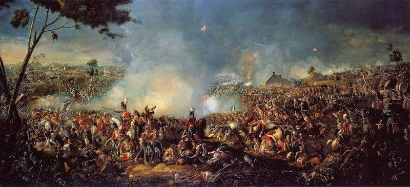 rothschild waterloo batalla